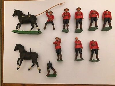 Soldatini Britains Giubbe Rosse Soldiers Vintage Lotto Lot