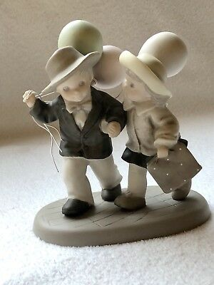 Kim Anderson Figurines~Friday's Child Is Living And Giving, Sharing With Friends