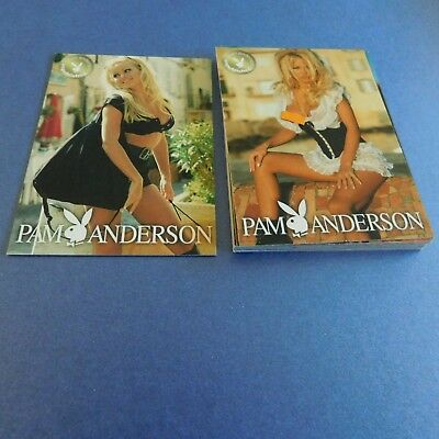 Non Sport Trading Cards 15 Different Playboy Pam Anderson(5)