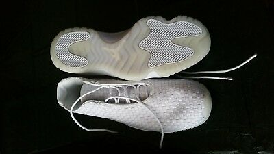 newest 0ccdd 4346f Chaussures Air Jordan Future couleur platine pur pointure 45