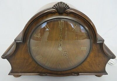 Vintage SMITHS Electric Mantel Clock - Westminster Chime. Spares or Repair.