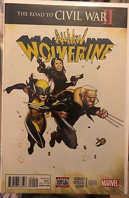 All New Wolverine 9 The Road To Civil War II 2 X-23 Laura Kinney First Print