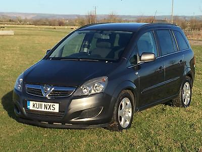 11 Vauxhall Zafira 1.7 CDTi Exclusive Ecoflex 6 Speed PRIVACY GLASS