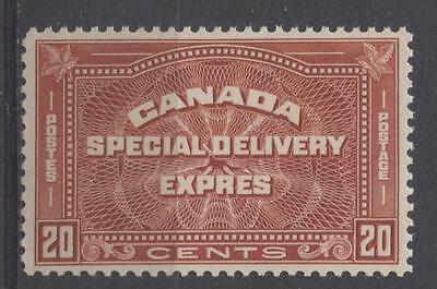 Canada #E5 20c Brownish Vermilion 1932-35 Medallion Issue Very Fine Mint NH