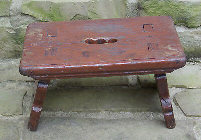 18th Century Country Chippendale Foot Stool
