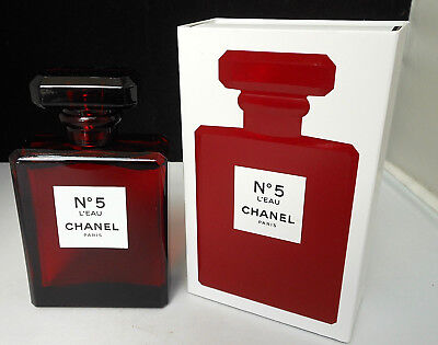 9ad8d31d CHANEL NO 5 L'EAU 100ml. EDT SPRAY RED LIMITED EDITION. NEW IN BOX