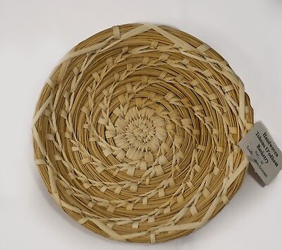 Southwestern Arizona Native American Handwoven Tohono O'odham Basketry