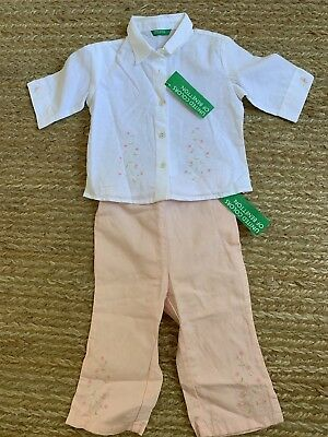 2T United Colors Of Benetton Girls Toddler Outfit