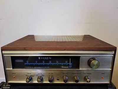 Vintage HH Scott Stereomaster 4312 FM Stereo Wideband Tuner Receiver w/ Manual
