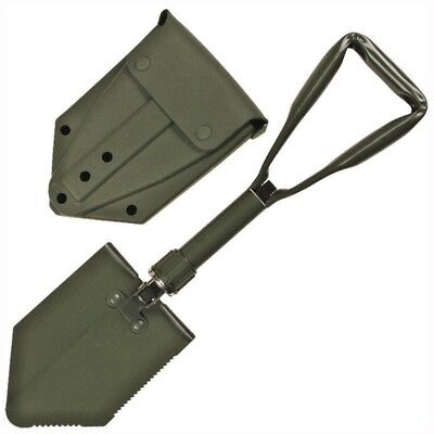 British Army Folding Shovel - Used Grade 1 - Metal -  Genuine Issue