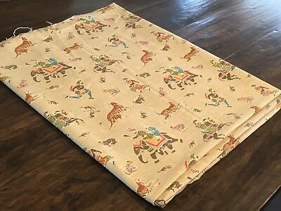"""P Kaufmann Exotic Animal and Sultan Printed Upholstery or Pillow Fabric 57x94"""""""