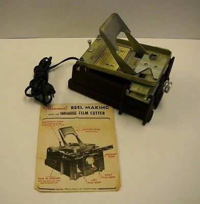 Vintage View Master Film Cutter With Instruction Manual