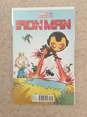 Iron Man 1 - Marvel Now - NM - Young Variant