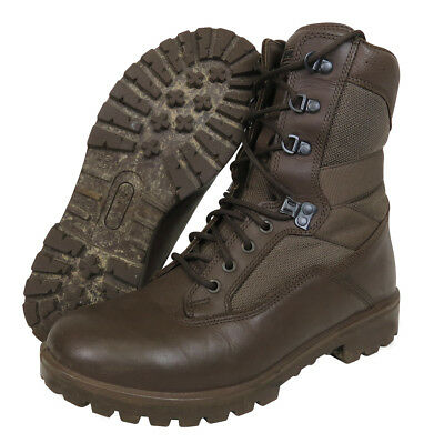 British Army Cadet Boots - Brown - Yds - Durable - Worn With Mtp - All Sizes