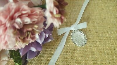 Blank Diy Bouquet Memory Bridal Photo Frame Charm With Cover 995