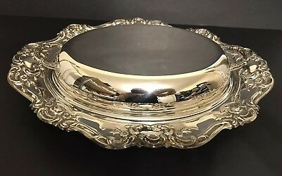 Wm. Rogers Silver Plated Enter Butlers Serving Dish