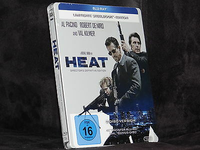 Heat (1995) steelbook [Blu-ray] 4K Remaster Edition + Bonus disc -- New & sealed