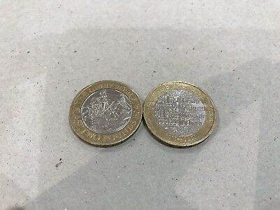 King James Bible and Mary Rose £2 two pound coin set. Rare.