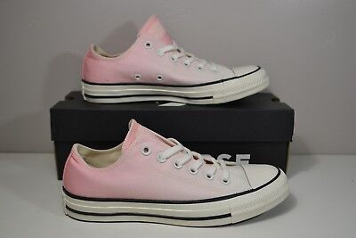 NIB GIRL CONVERSE CHUCK TAYLORS CTAS OX PINK POP PATENT SNEAKERS SHOES MULT SZ