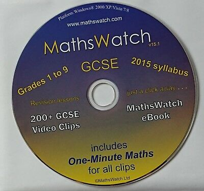 MATHSWATCH NEW SPEC GCSE grade 9-1