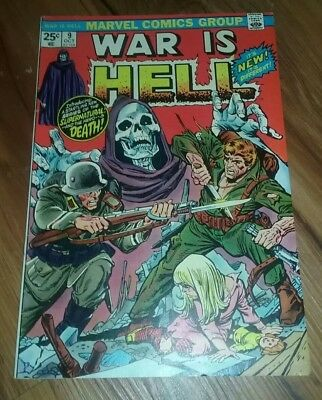 War Is Hell #9 1St Appearance Of Death Thanos