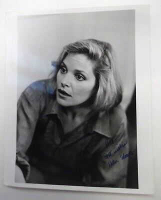 HELEN SHAVER Autographed PHOTO Actress The COLOR Of MONEY Amityville PC1325