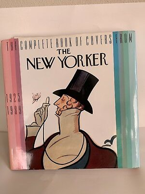 The Complete Book of Covers from THE NEW YORKER 1925-1989 1st Edition with DJ