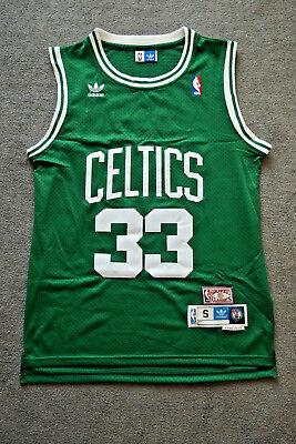 Larry Bird #34 VINTAGE jersey Basketball NBA size S Boston Celtics
