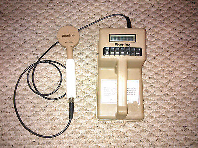 Eberline ESP-1 Smart Scaler Radiation Meter with HP-260 Probe Working