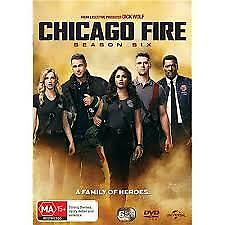 Chicago Fire : Season 6 (DVD, 2018, 6-Disc Set)