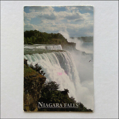 Niagara Falls from Prospect Point Viewing Area Postcard (P359)