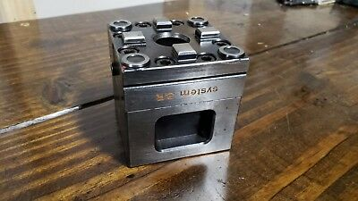 SYSTEM 3R-610.21 Macro Machining Block with 3 ground sides EDM (5 available)