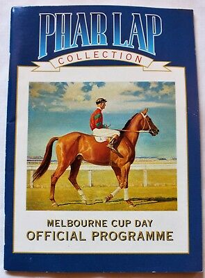 Phar Lap Collection Official Programme 1930