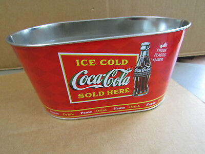 Coca-Cola Collectible Oval Decor Tin