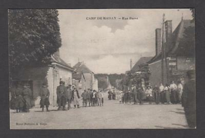 CPA - Carte postale ancienne - Camp de Mailly - 10