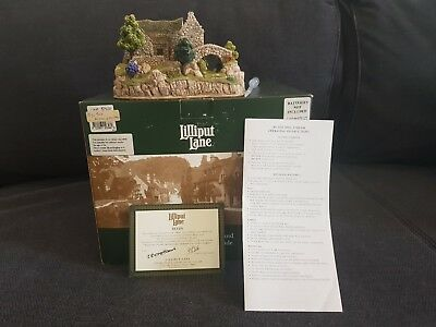 Lilliput lane : By The Mill Stream L2648 - Falling water collection