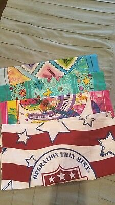 lot of girl scout bandannas