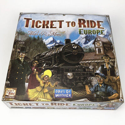 Ticket to Ride Europe Board Game Party Game Christmas Gift Game
