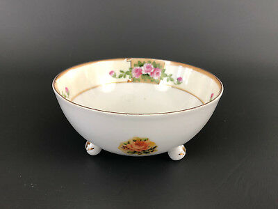 Antique hand painted porcelain mayonnaise bowl NIPPON 1891 - 1921