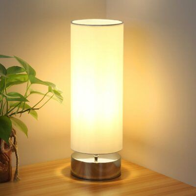 Touch Control Table Lamp Bedside Minimalist Desk Lamp Modern Dimmable Touch Lamp