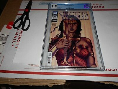 Wonder Woman #45 Cgc 9.8 (Frison Variant Cover) (Combined Shipping Available)