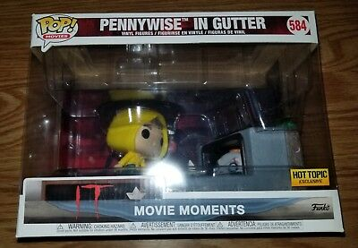 Funko Pop It Pennywise in Gutter Movie Moments Hot Topic Exclusive