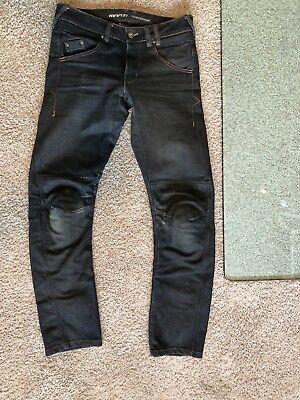 Rev'It! Campo Men's Cordura Coolmax Padded Motorcycle Jeans Pants 32 X 32 -$270
