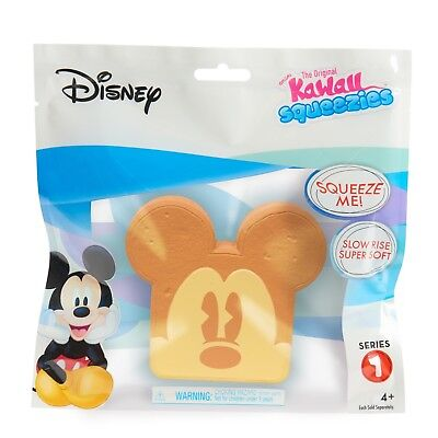 Disney Mickey Toast Series 1 Kawaii Squeezies - New in Sealed Package