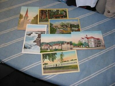 Antique Vintage Lot of Postcards ~ 30 RANDOM Postcards from the 1910s to 1970s