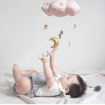 Baby Pillow Cloud Shape Wall Hanging Decor Pillow Cushion Decorate Props Lovely