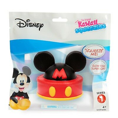 Disney Kawaii Squeezies Series 1 Mickey Ear Hat Cake Squishy Toy