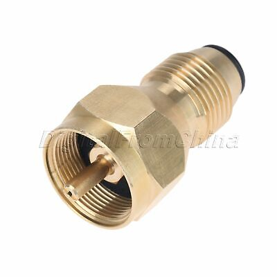 Cooking BBQ Propane Refill Adapter Gas Cylinder Tank Coupler Heater Connection