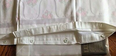 """Set (2) NWT Made Germany Luxorette Euro Shams 31"""" By 31"""" Cotton/Poly Damask"""
