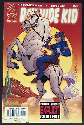 The Rawhide Kid  #5 J. Scott Campbell Cover Marvel Max